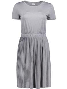 Jacqueline de Yong Jurk JDYNICE S/S DRESS JRS KA 15133509 Light Grey Melange