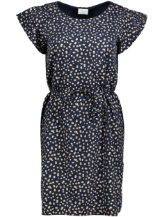 vidots melli pocka dress 14043150 vila jurk total eclipse/ w gold an