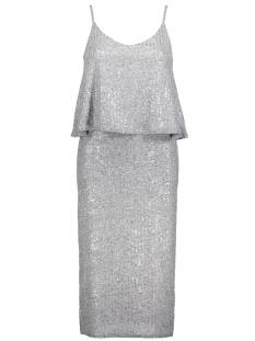 NMSILJA S/L BELOW KNEE DRESS 3 10177149 Medium Grey Melange