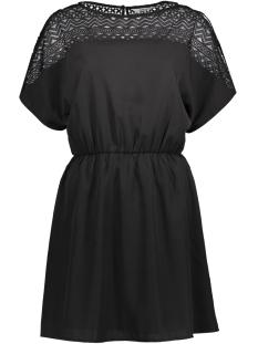 Only Jurk onlMOLLIE S/S DRESS WVN 15144534 Black