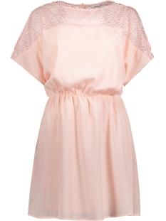 Only Jurk onlMOLLIE S/S DRESS WVN 15144534 Peach Whip