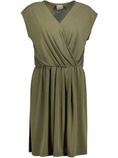 Vero Moda Jurk VMMETTI WRAP SHORT DRESS JRS 10176235 Ivy Green