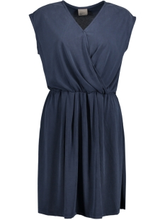 VMMETTI WRAP SHORT DRESS JRS 10176235 Navy Blazer