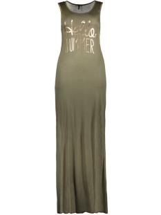 Only Jurk onlINES S/L LONG PRINT DRESS JRS 15136055 Kalamata/Rose Gold