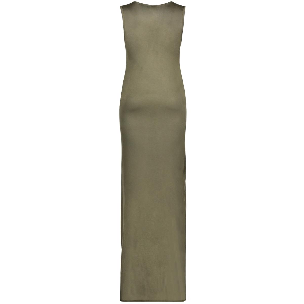 onlines s/l long print dress jrs 15136055 only jurk kalamata/rose gold