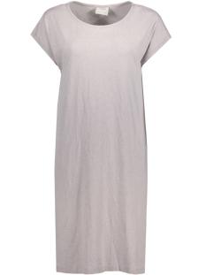 Vero Moda Jurk VMDARCIA SS ABK DRESS DNM JRS 10181099 Light Grey Mela/Melange