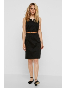 vmpekaya s/l short dress 10179270 vero moda jurk black