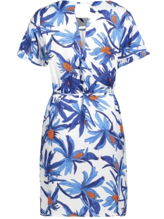 objjillian s/s dress a hs 23025405 object jurk gardenia