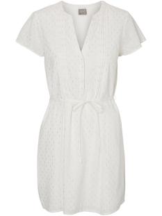 Vero Moda Jurk VMSILVER CAPSLEEVE SHORT DRESS 10181608 Snow White