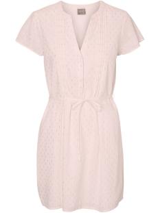 Vero Moda Jurk VMSILVER CAPSLEEVE SHORT DRESS 10181608 Peach whip