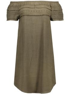 Vila Jurk VILOOPE OFFSHOULDER DRESS 14040808 Ivy Green