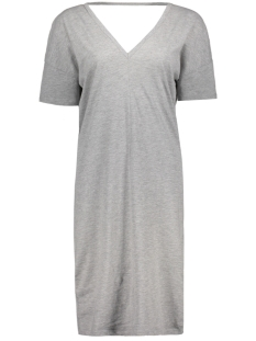Jacqueline de Yong Jurk JDYNOHO 2/4 DRESS JRS 15143893 Light Grey Melange