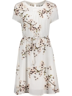 Vero Moda Jurk VMOCCASION S/S DRESS D2-5 10183879 Snow White/FLOWER