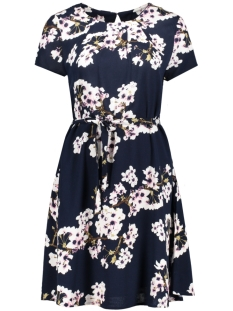 VMOCCASION S/S DRESS D2-5 10183879 Navy Blazer/FLOWER