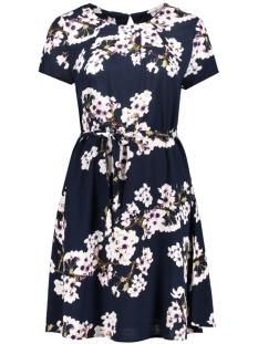 Vero Moda Jurk VMOCCASION S/S DRESS D2-5 10183879 Navy Blazer/FLOWER