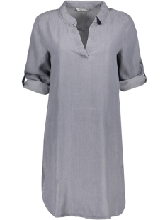 Only Tuniek onlANNA 3/4 SHIRT DRESS WVN 15145695 Grey Denim