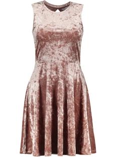 Only Jurk onlPUNTI MIA NIELLA S/L DRESS JRS 15145358 Burlwood