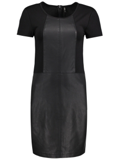 Only Jurk onlHOLLY FAUX LEATHER DRESS OTW 15141718 Black