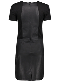 onlholly faux leather dress otw 15141718 only jurk black