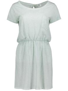 Jacqueline de Yong Jurk JDYBOLETTE S/S DRESS JRS 15133657 Blue Haze