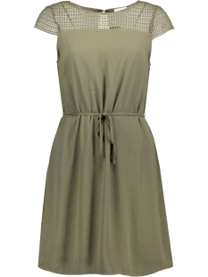 Vila Jurk VIVANI DRESS/2 14044924 Ivy Green