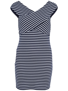 onlPOLLYDARIA S/L DRESS JRS 15138637 Night Sky/Y/D Stripe