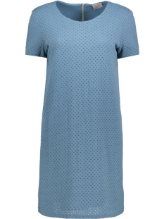 Vero Moda Jurk VMDORTHEA SHORT DRESS JRS 10179694 Bluestone