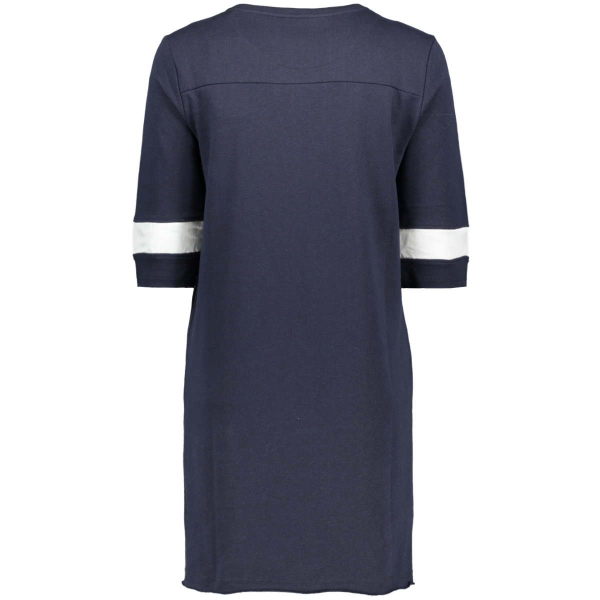 onlline 2/4 dress swt 15142078 only jurk sky captain/cloud dancer