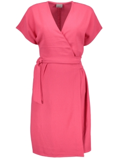 Vero Moda Jurk VMBOURNE S/S WRAP DRESS NFS - KA 10183699 Raspberry