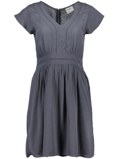 Vero Moda Jurk VMANEBORDER CAP SLEEVE SHORT DRESS 10189710 Ombre Blue