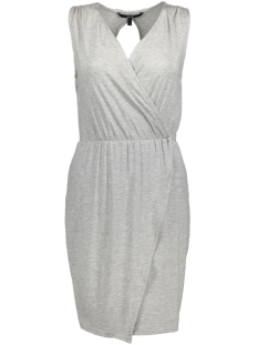 Vero Moda Jurk VMAMAZING GREAT SL SHORT DRESS D2 L 10190958 Light Grey Melange
