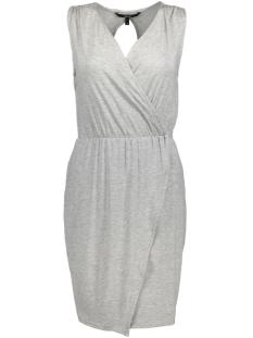 Vero Moda Jurk VMAMAZING GREAT SL SHORT DRESS D2 L 10190958 Light Grey Melange