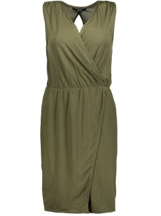 Vero Moda Jurk VMAMAZING GREAT SL SHORT DRESS D2 L 10190958 Ivy Green