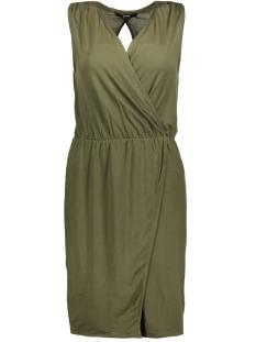 Vero Moda Jurk VMAMAZING GREAT SL SHORT DRESS D2 L 10190958 Ivy Green