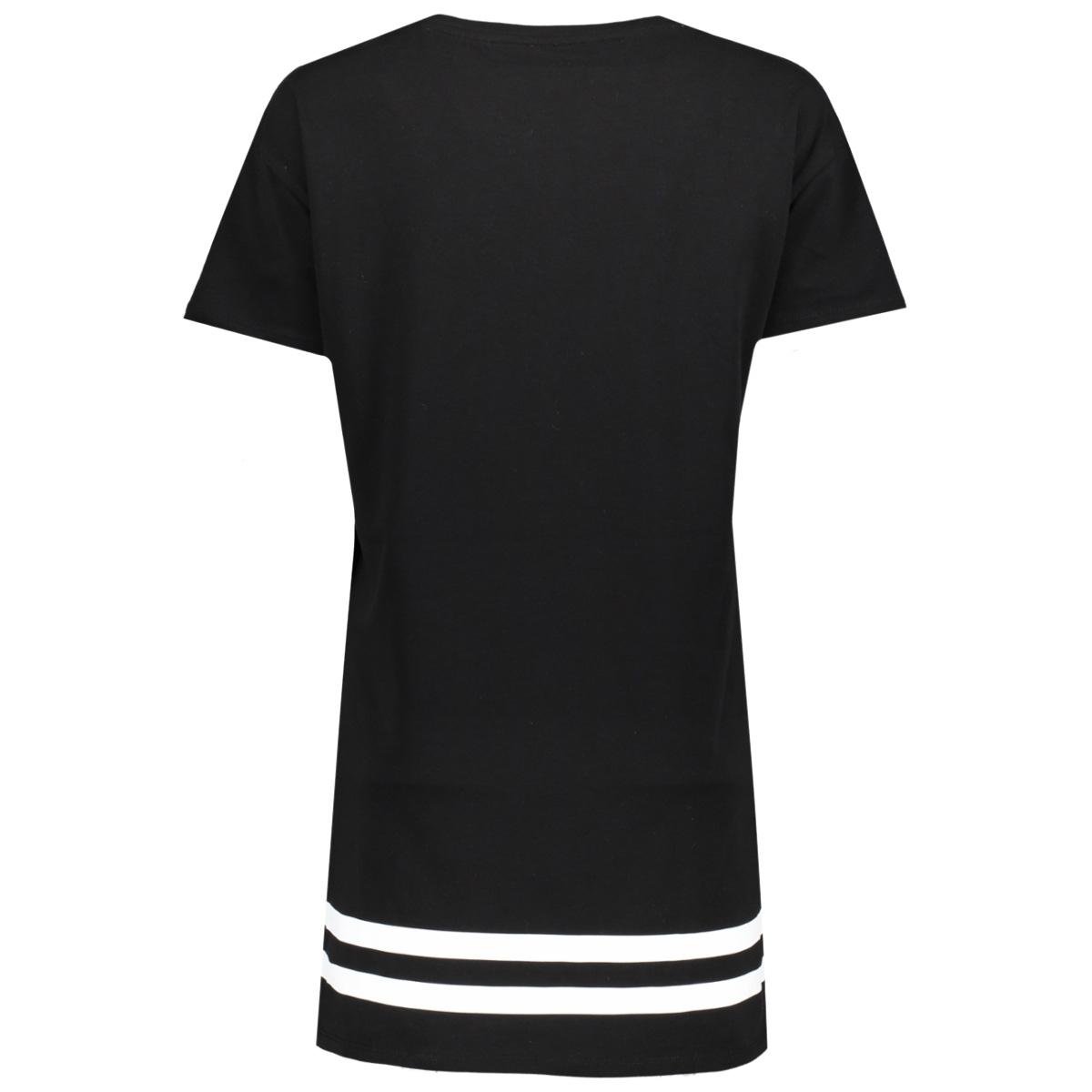 onlsquad brooklyn s/s short dress b 15144595 only t-shirt black