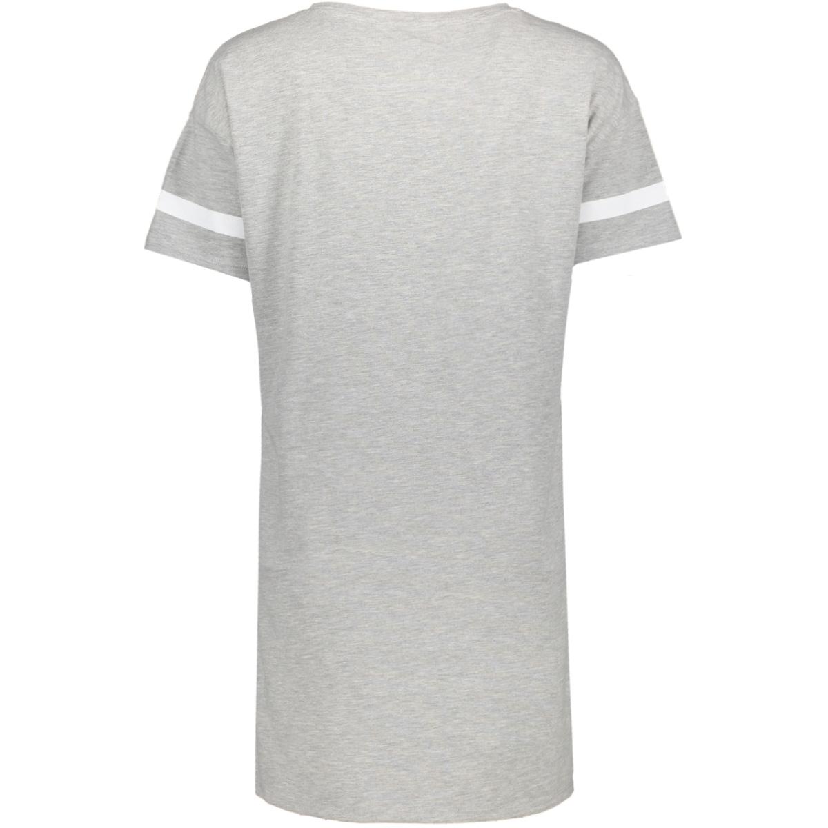 onlsquad brooklyn s/s short dress b 15144595 only t-shirt light grey melange