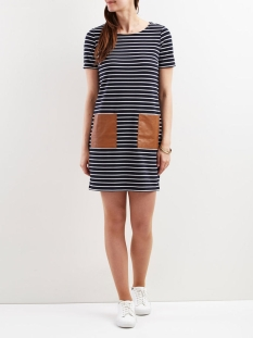 vitinny pocket dress/1 14044205 vila jurk total eclipse/snow white