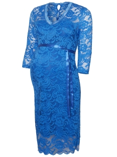 Mama-Licious Positie jurk MLMIVANA 3/4 JERSEY DRESS 20007260 Princess Blue