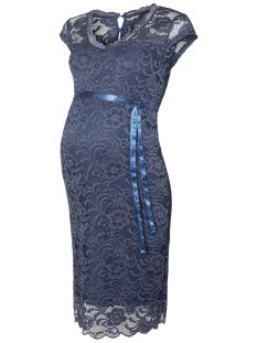 Mama-Licious Positie jurk MLNEWMIVANA CAP JERSEY DRESS 20006241 Vintage Indigo