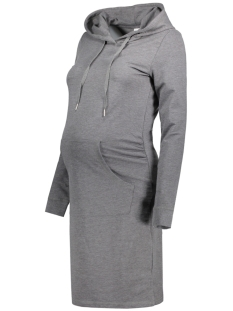 Mama-Licious Positie jurk MLDEBBIE L/S SWEAT DRESS 20007509 Medium Grey Melange