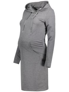 Mama-Licious Positie jurk MLDEBBIE L/S SWEAT DRESS 20007509 Medium Grey Melange