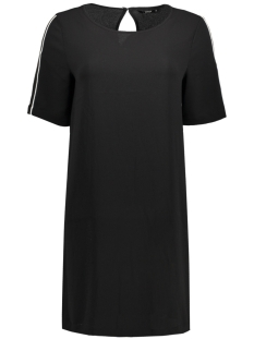 Only Jurk onlCASA LUX TEE DRESS WVN 15143254 Black