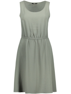 Only Jurk onlNOVA LUX S/L SARAH SOLID DRESS 15139746 Agave Green