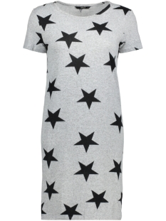 onlELCOS S/S DRESS JRS RP1 15149079 Light Grey Mela/Black Star