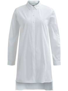Object Blouse OBJPOPLIN L/S SHIRT DRESS PB2 23024943 White