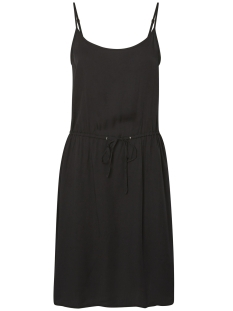 Vero Moda Jurk VMNEWMAKER  SHORT STRING DRESS D2 L 10188450 Black Beauty