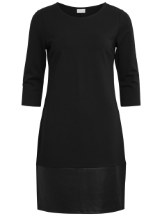 Vila Jurk VIALLY 3/4 SLEEVE DRESS 14043721 Black