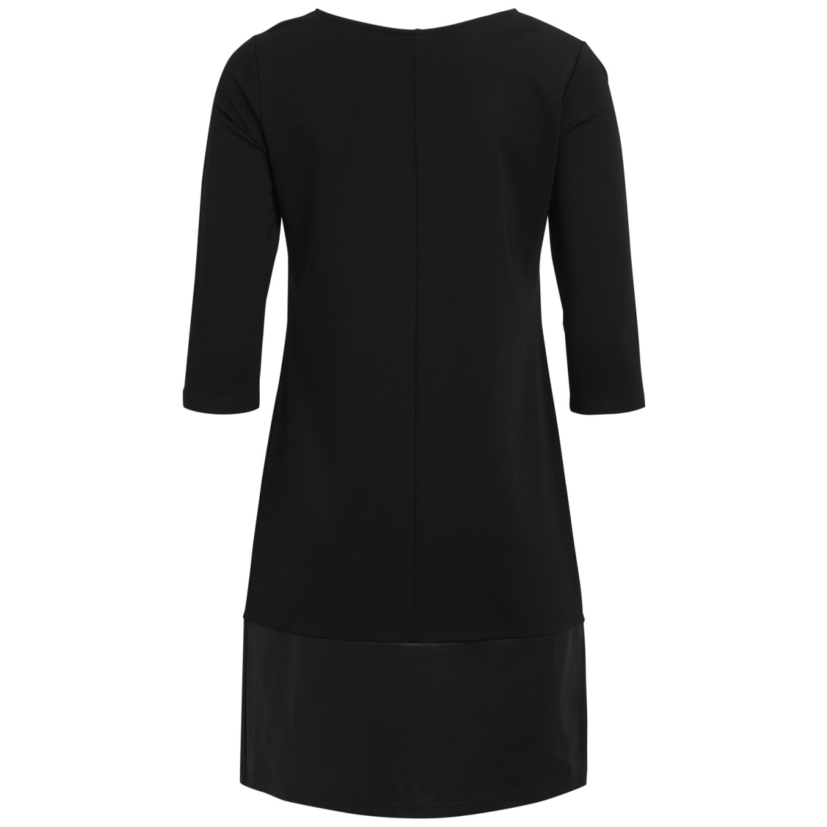 vially 3/4 sleeve dress 14043721 vila jurk black