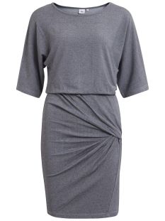 Object Jurk OBJLAURA 2/4 DRESS .I 93 23025194 Medium Grey Melange