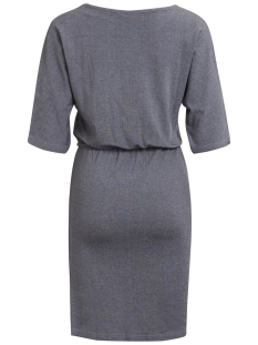 objlaura 2/4 dress .i 93 23025194 object jurk medium grey melange
